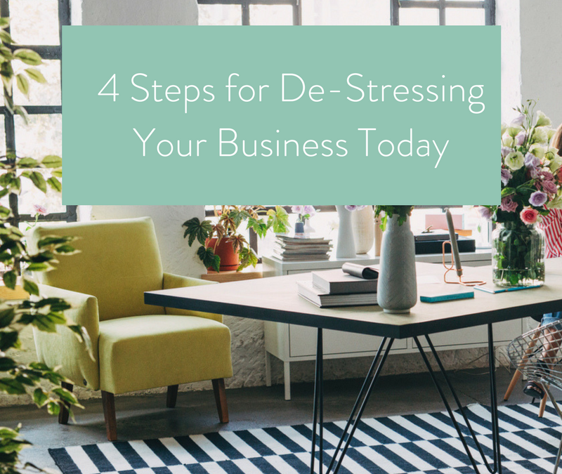 4 Steps for De-Stressing Your Business Today